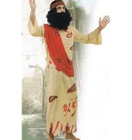 ABC CArnaval JEZUS VOL BLOED MET PRUIK EN BAARD