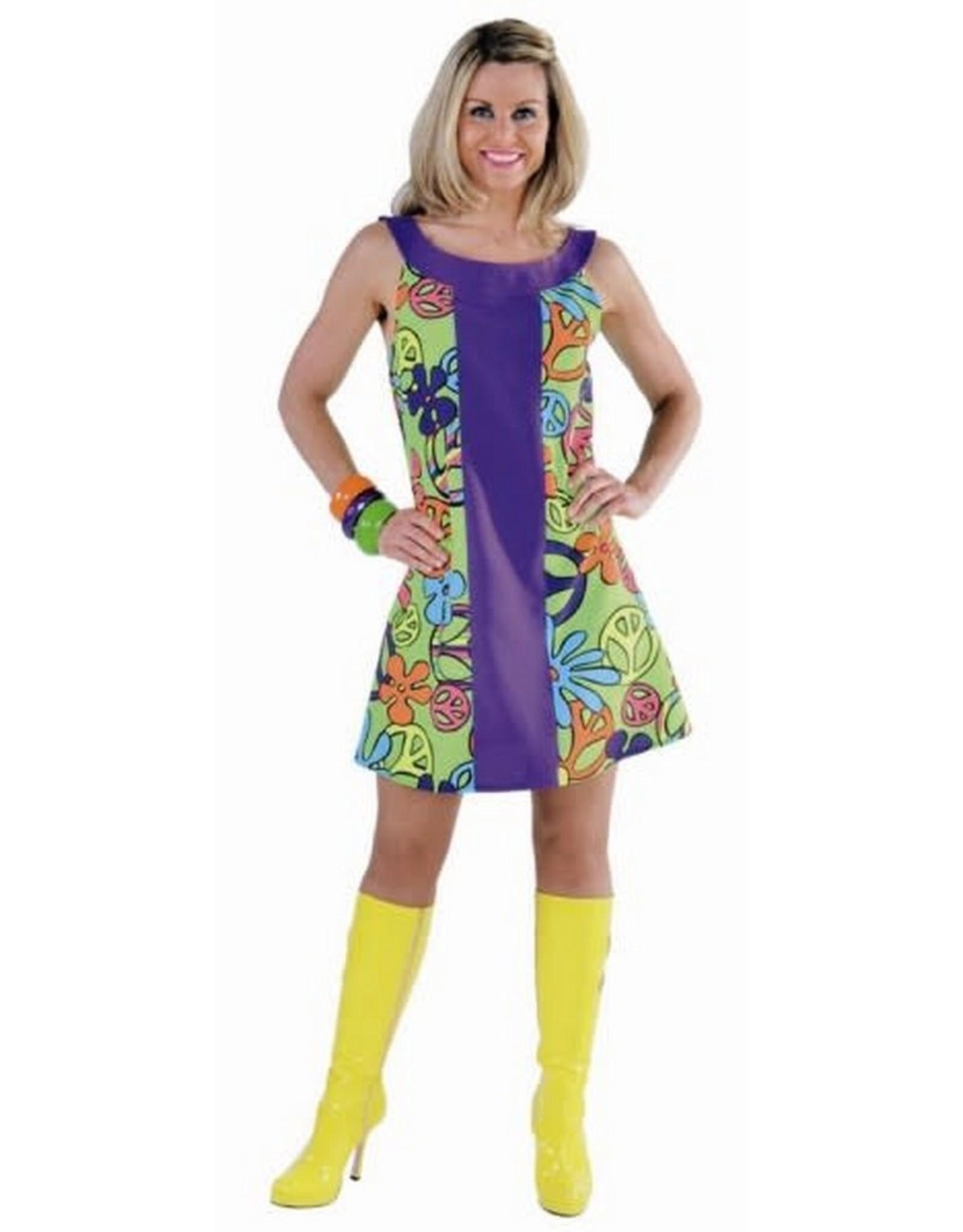 MAGIC Peace jurk huurprijs € 15