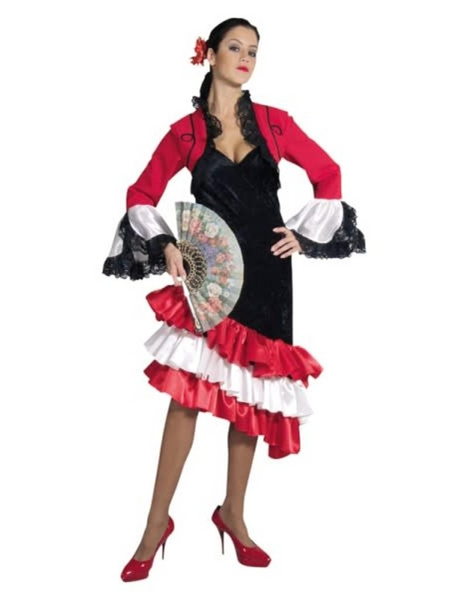 MAGIC Spaanse jurk met lange mouwen huurprijs 20
