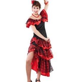 EUROCARNAVALES flamenco 1 maat huurprijs 20