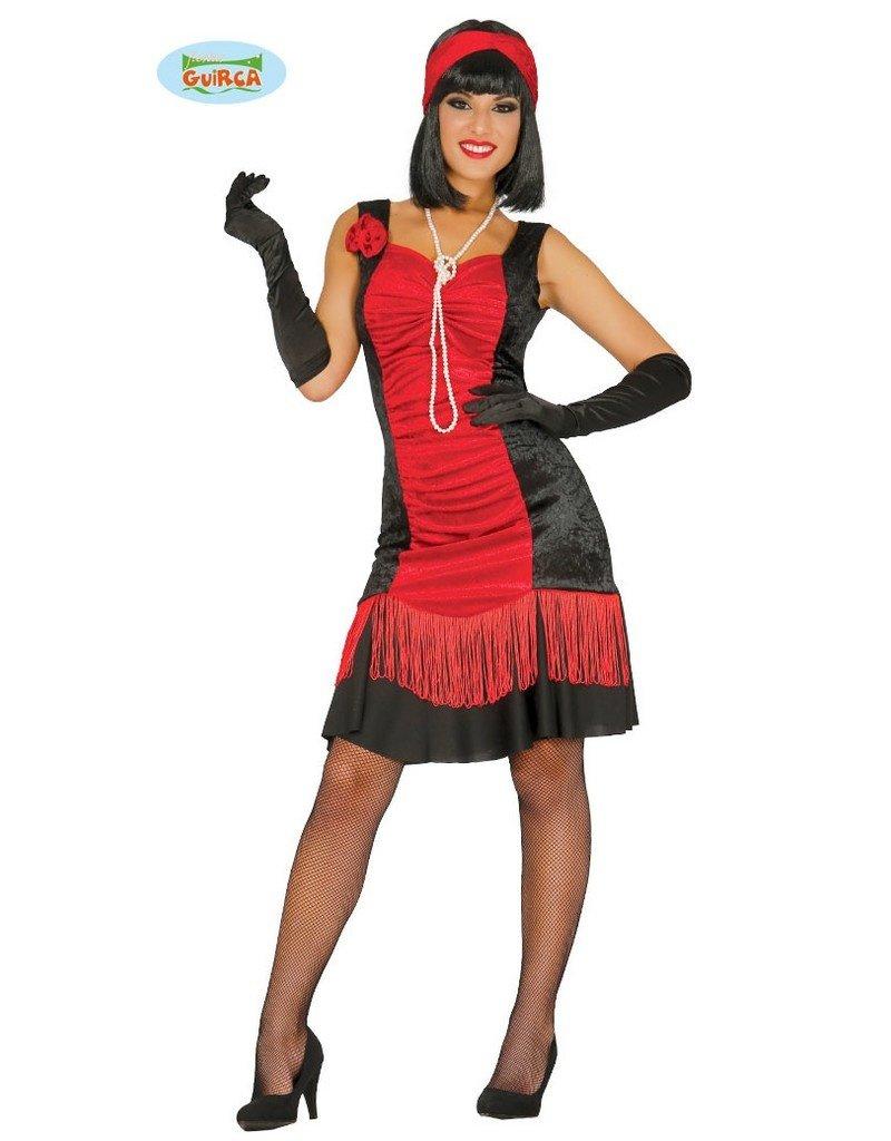 FIESTAS GUIRCA Charleston rood-zwart XL
