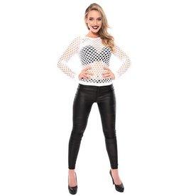 WITBAARD damesshirt gaten wit L/XL