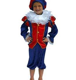 FARAM zwarte Piet rood blauw 164