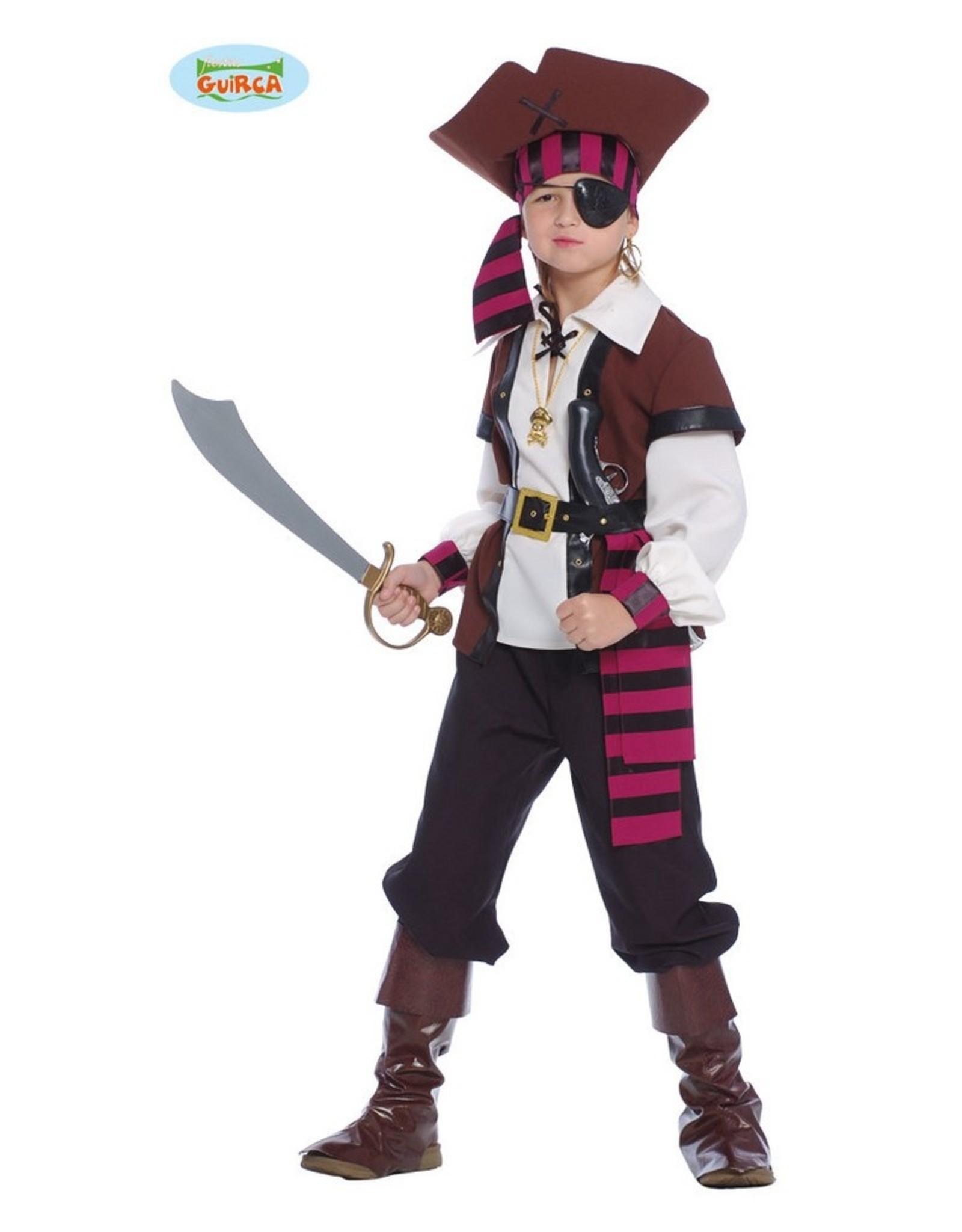 FIESTAS GUIRCA piraat 7 tot 9 jaar