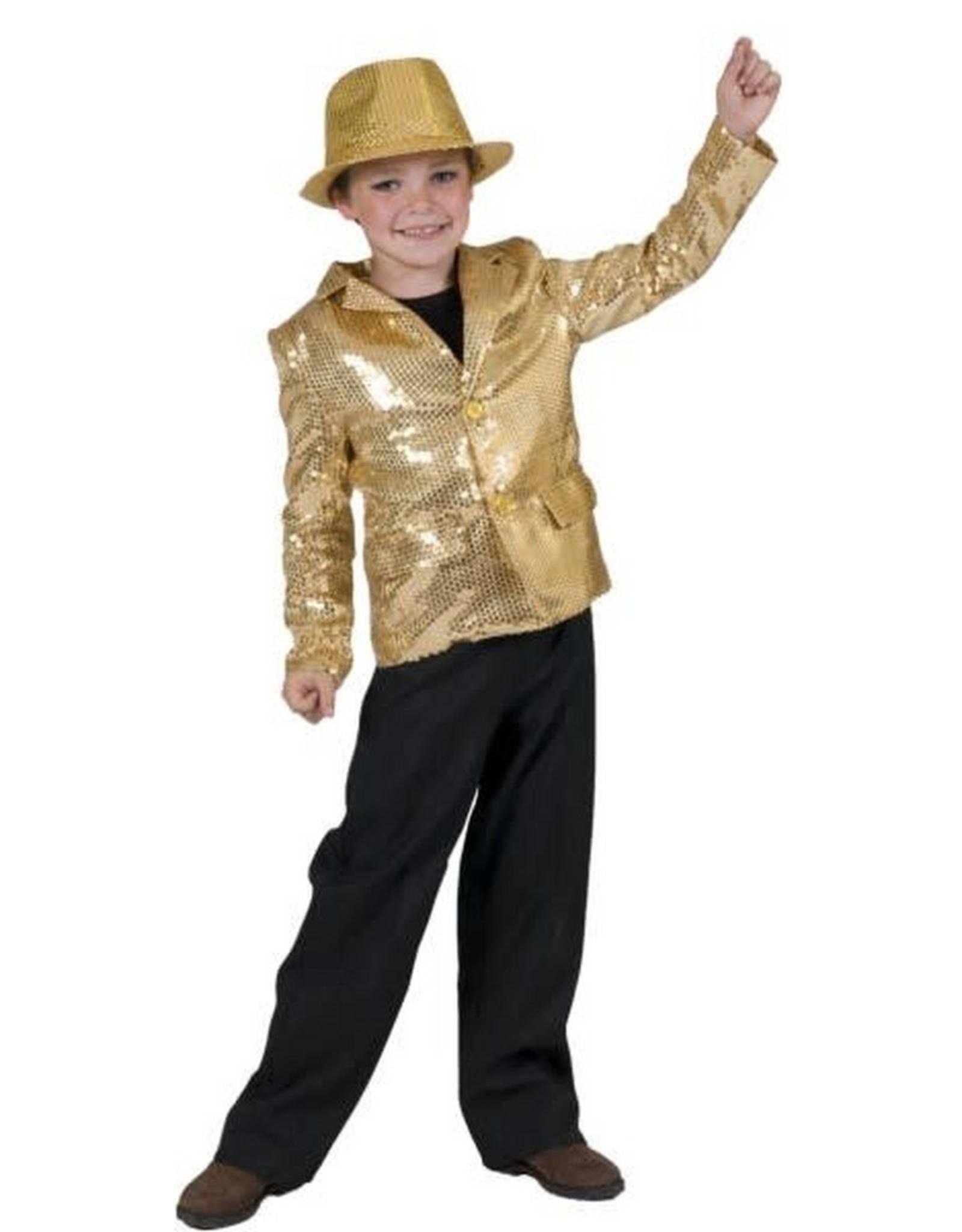 ESPA glittervest goud 116 huurprijs 20