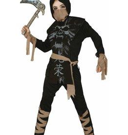 FIESTAS GUIRCA KOOP ninja skelet 5-6 jaar