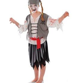 Bristol Novelty Ltd. piraten meisje met bloed