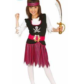 FIESTAS GUIRCA piraatmeisje 7 tot 9 jaar