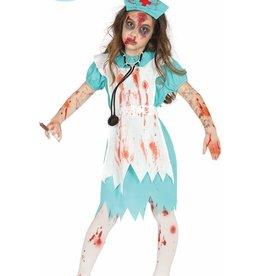 FIESTAS GUIRCA Verpleegster zombie 7-9 jaar