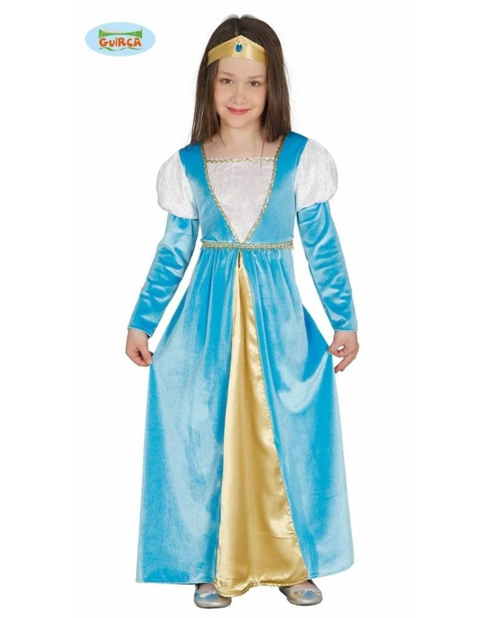 FIESTAS GUIRCA middeleeuwse princes 5 tot 6 jaar
