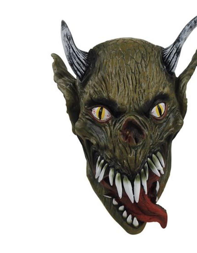WITBAARD masker bosduivel