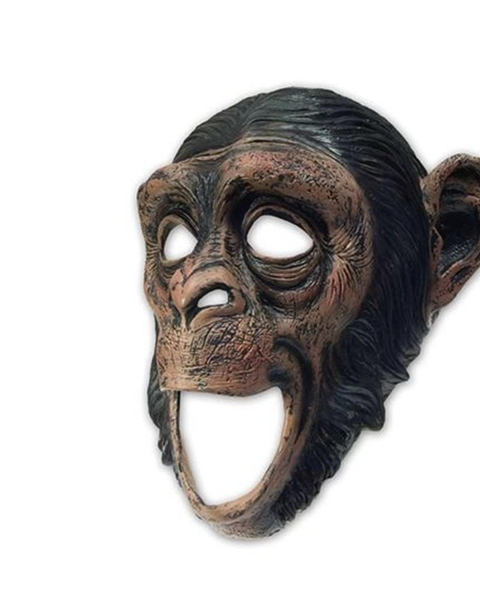 WITBAARD masker aap met grote mond