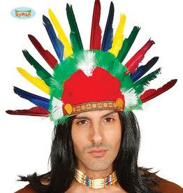 FIESTAS GUIRCA indianen pluimen