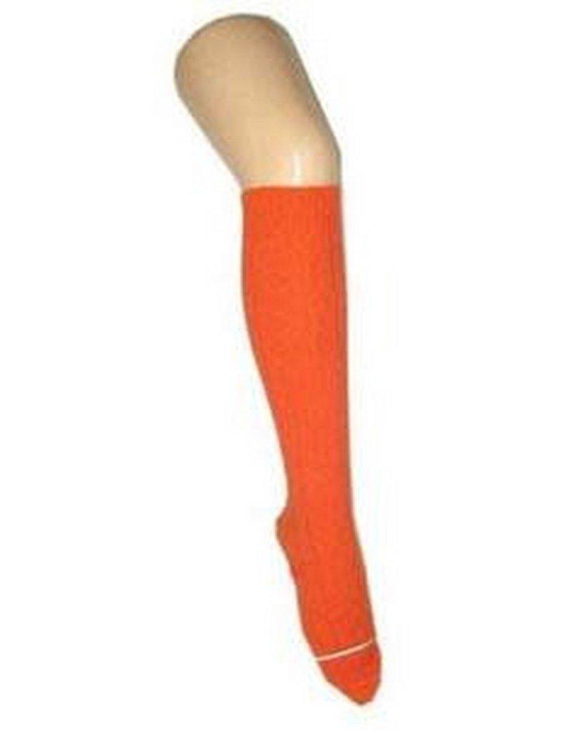 ABC CArnaval kniekousen oranje