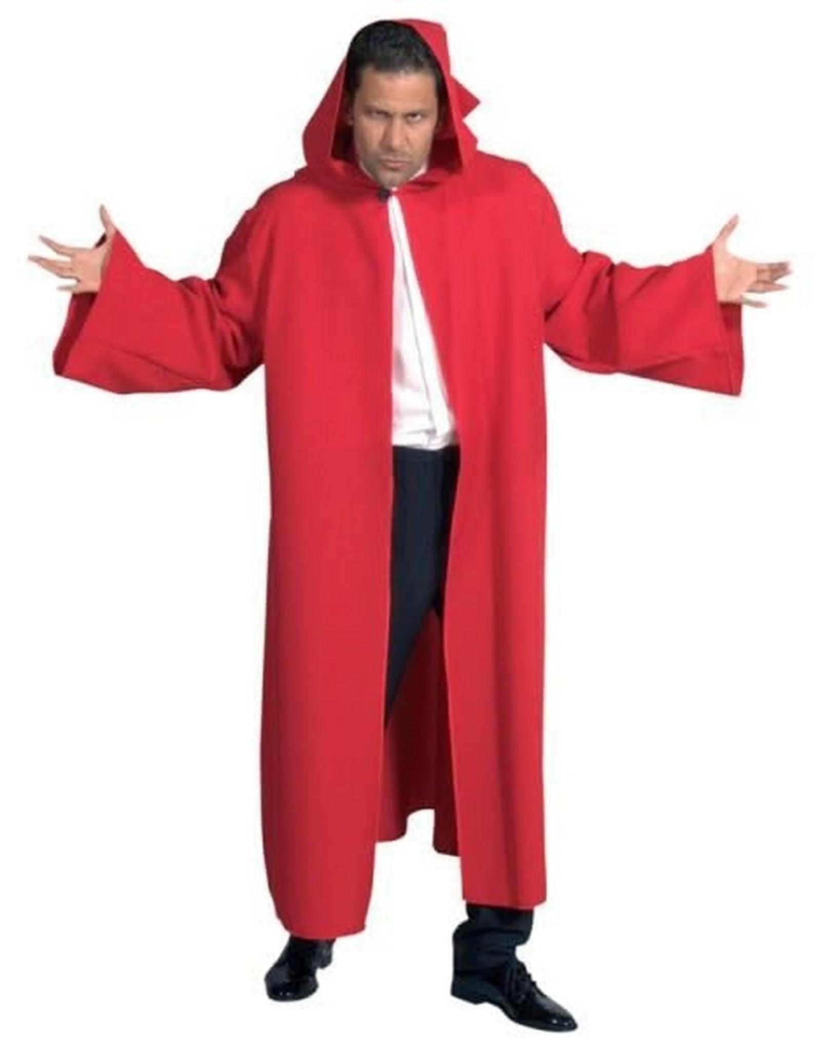 MAGIC Venetiaanse mantel rood  met mouwen huurprijs 15