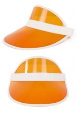 Partyxplosion zonneklep oranje