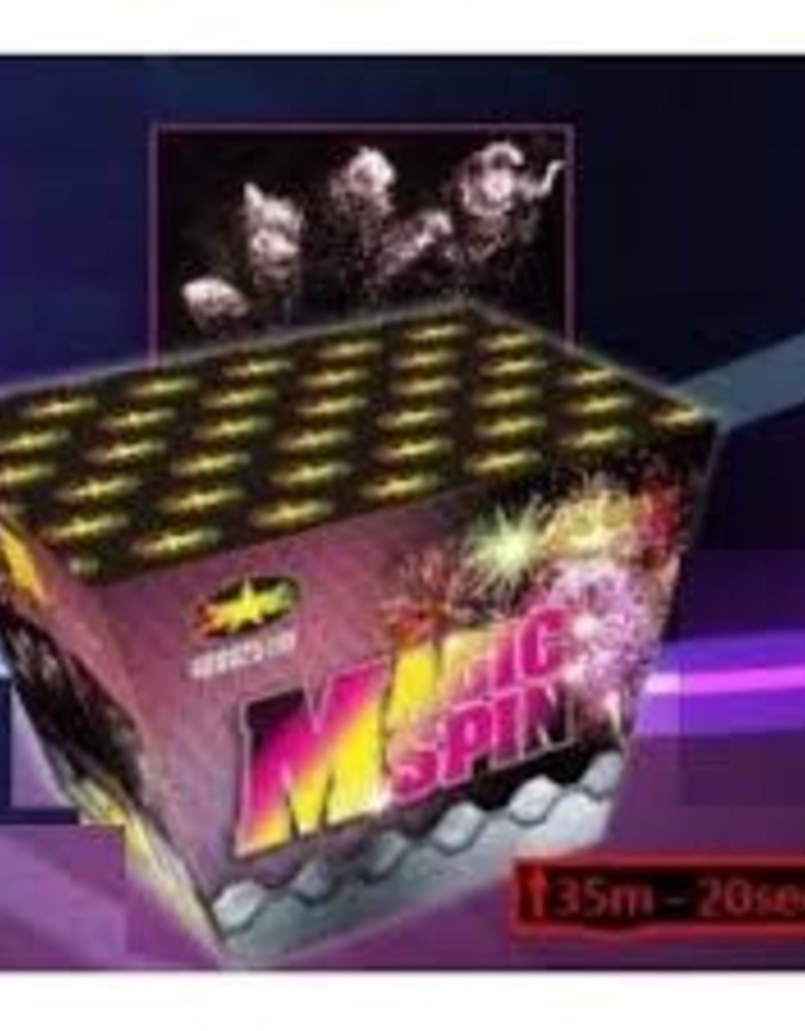 TRISTAR Magic spin 25 shot