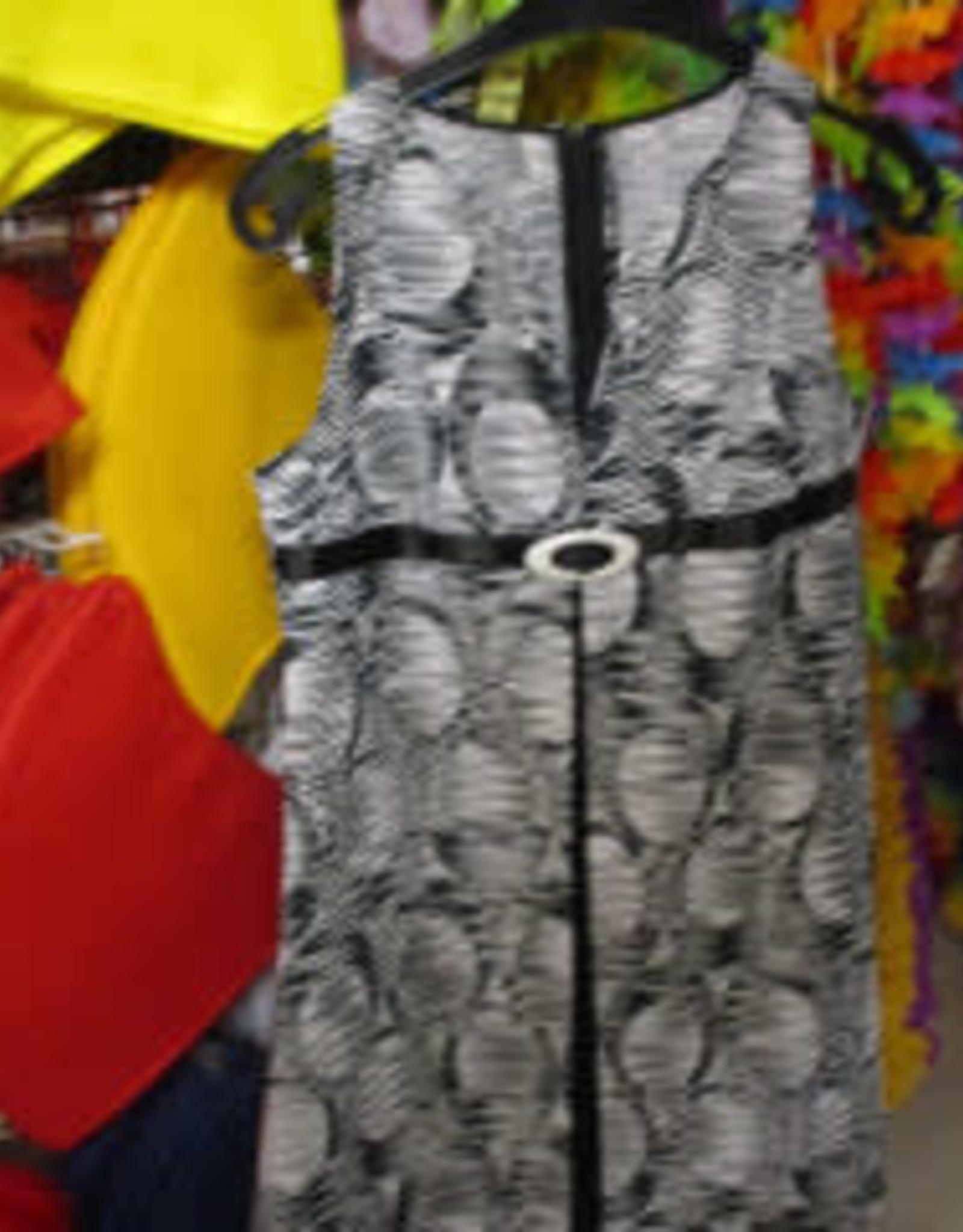 kleedje zwart wit tekening huurprijs € 15 S