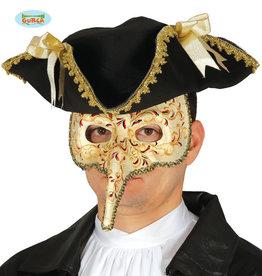 FIESTAS GUIRCA Venetiaans masker neus