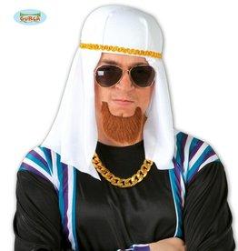 FIESTAS GUIRCA hoed arabier wit