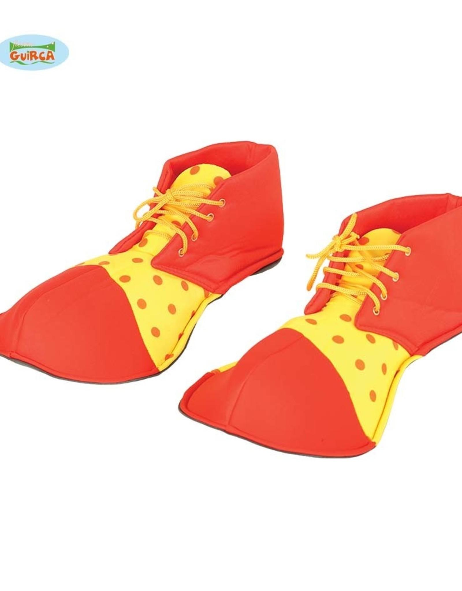 FIESTAS GUIRCA Clownsschoenen rood/geel
