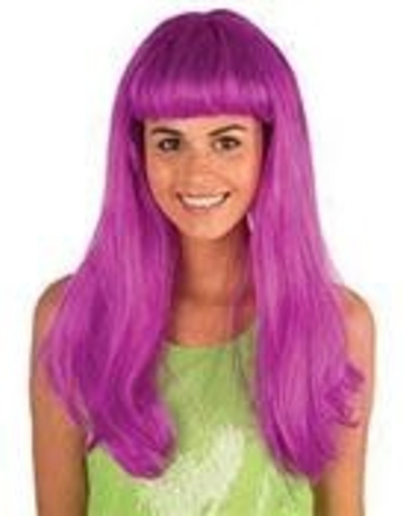 FARAM pony neon kleur paars