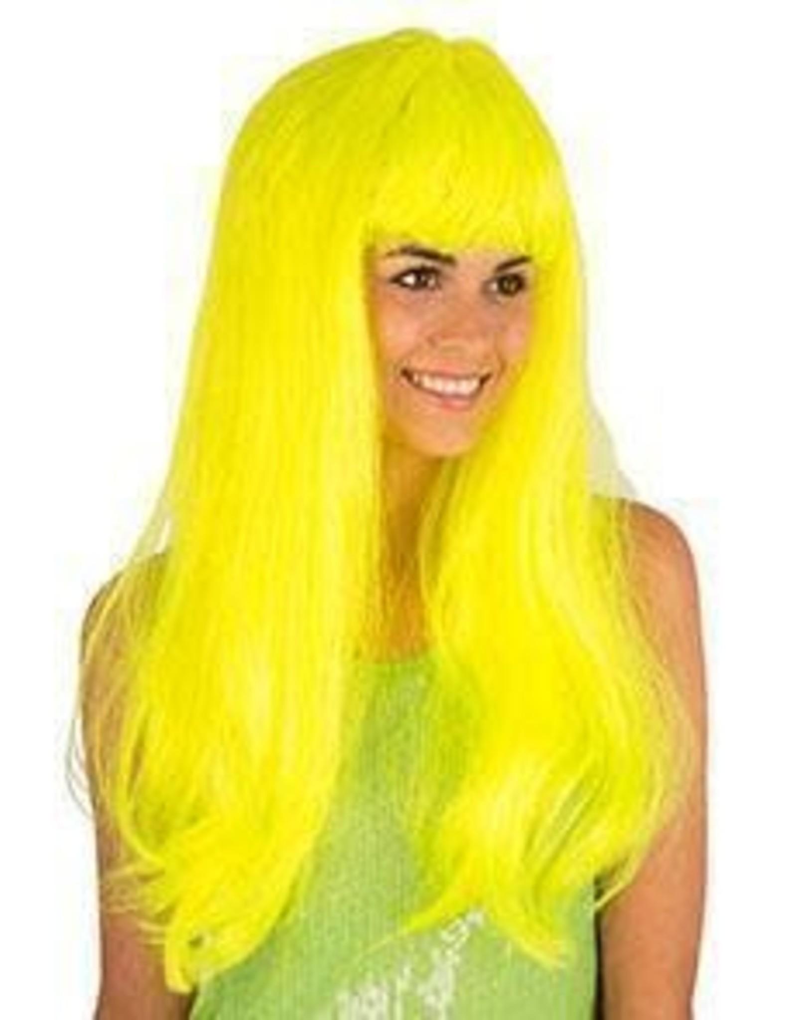 FIESTAS GUIRCA pony neon kleur geel