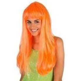 FARAM pony neon kleur oranje