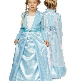 FARAM Prinses licht blauw huurprijs 25