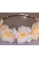 bloemenkroon witte pioen