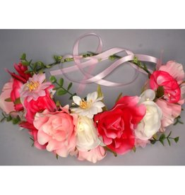 bloemenkroon roos, 8 effecten