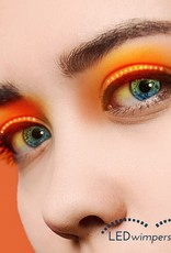 wimpers oranje