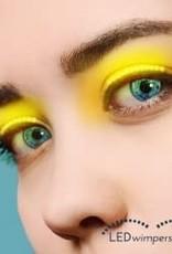 wimpers geel