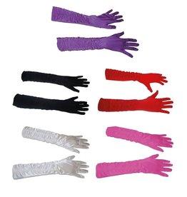 ESPA Handschoenen lang met rimpel