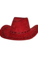 FARAM cowboy hoed rood