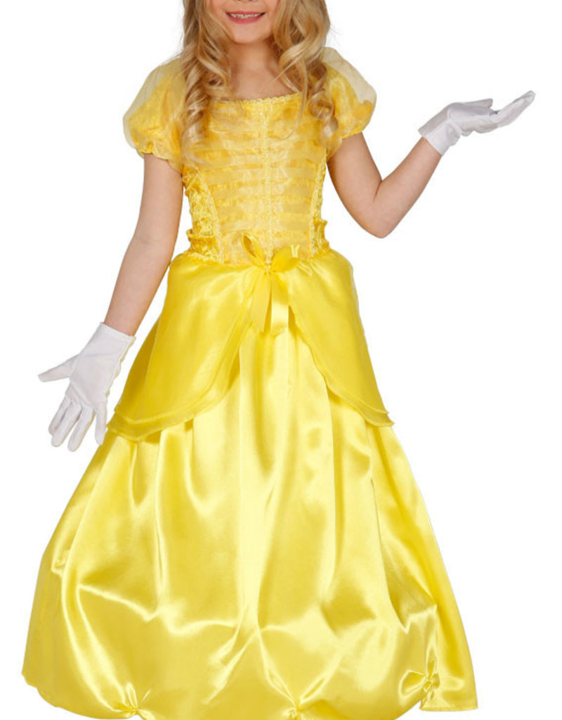 FIESTAS GUIRCA gele prinses  5-6 jaar