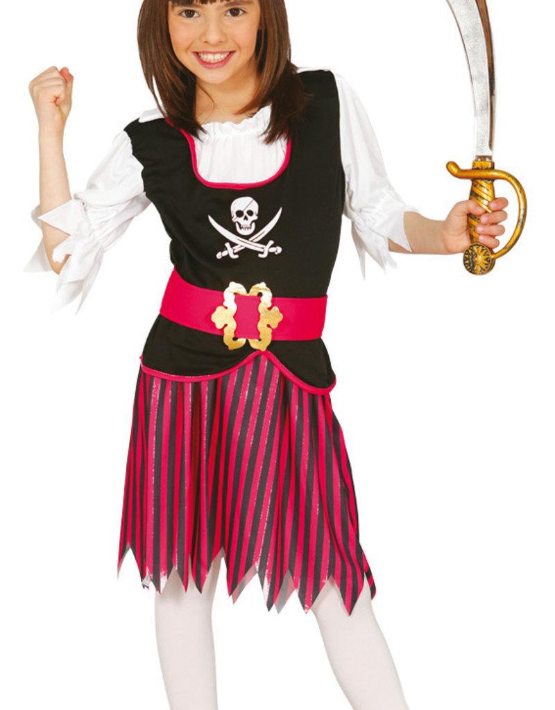 FIESTAS GUIRCA Piraatmeisje  5 tot 6 jaar