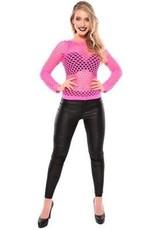 WITBAARD damesshirt gaten fluor roze