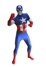 ESPA Morphsuit Captain America XL