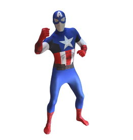 ESPA Morphsuit Captain America XL