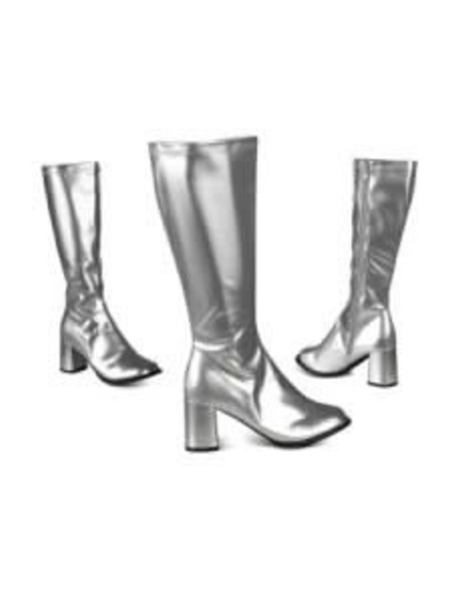 Partyxplosion dames laarzen goud huurprijs 30