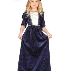 FIESTAS GUIRCA middeleeuwse dame 5 tot 6 jaar
