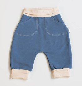 LUMOAN / Pantalon couleur saphir pour bébé