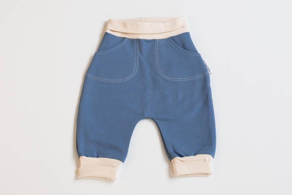 Unisex Baby Baggy-Hose saphirfarben