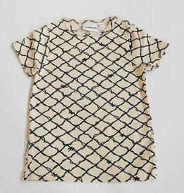 LUMOAN /  Unisex t-shirt noir-blanc