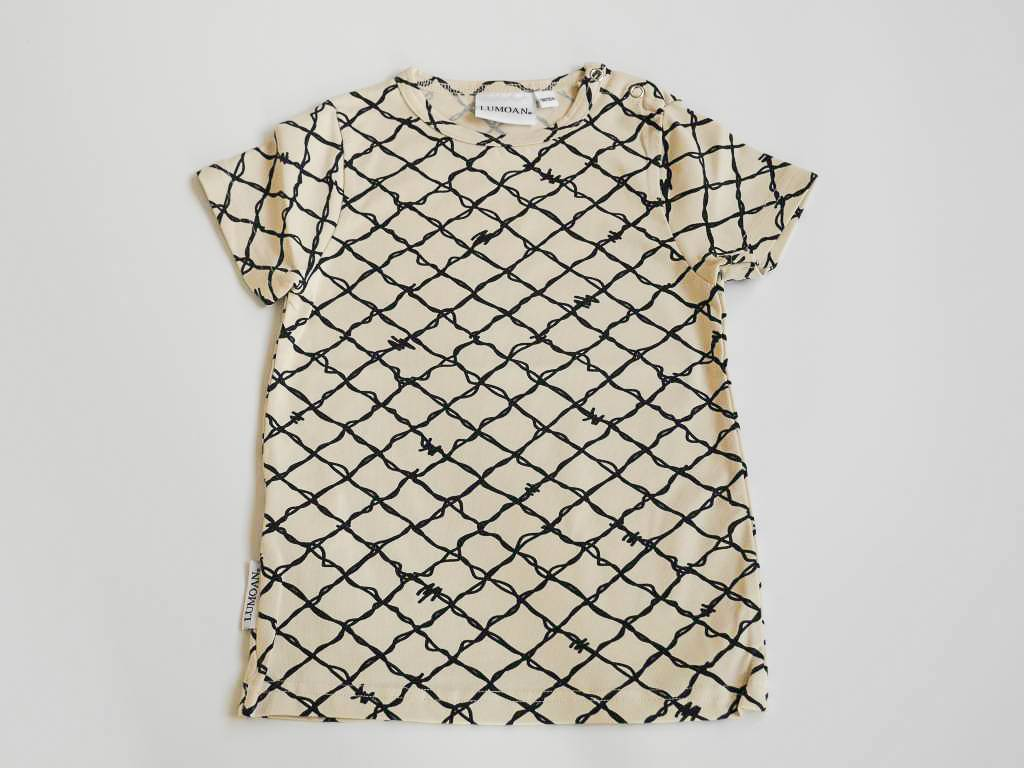 Unisex t-shirt black/white