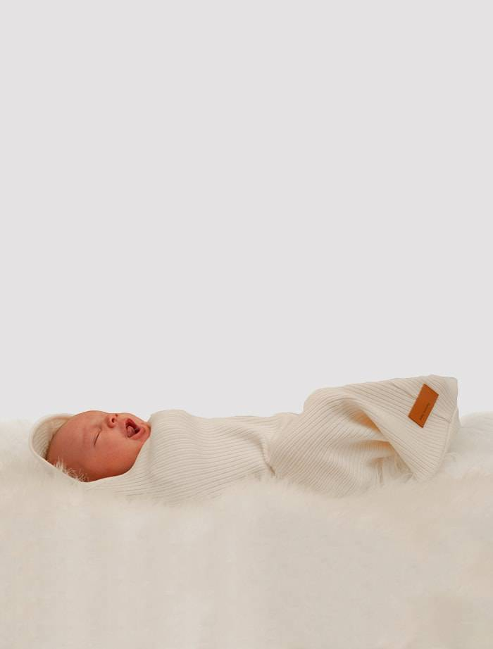 Baby Merino Kokon 20x60 cm