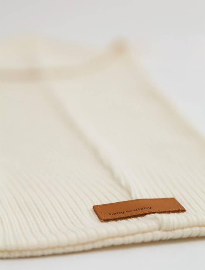 Baby cocoon made of merino wool 20x60 cm