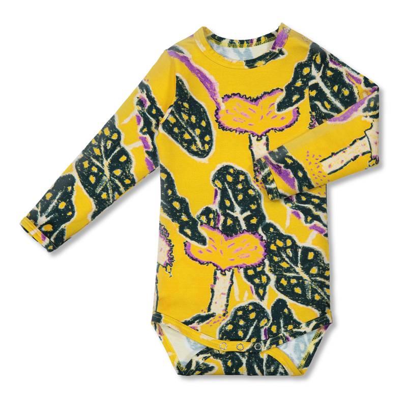 """Body """"Paradise Chaps"""" coloré/jaune pour bèbè"""