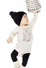 Body Owl natural white from organic cotton